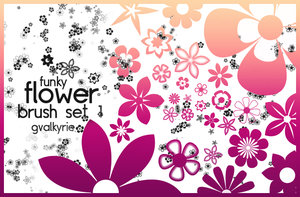 Flower Brush Set for Photoshop