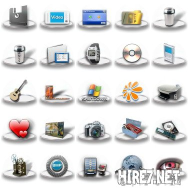 Exhibit Dock Icons Pack