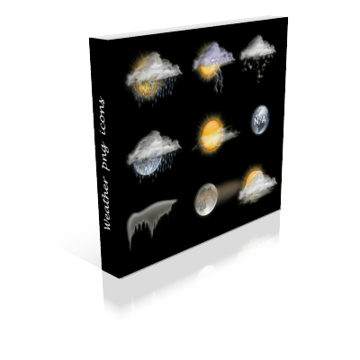 Weather PNG Icons
