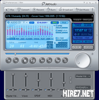jetAudio 7.1.0 Build 3100 Plus VX + Русификатор