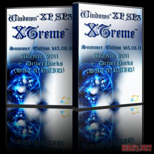 Windows® XP Sp3 XTreme™ Summer Edition v15.08.11 (Август 2011 г.) + DriverPacks (SATA/RAID). Бесплатно