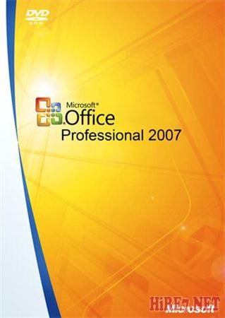 Microsoft Office 2007 with SP3 12.0.6607.1000 VL Select Edition Russian (Update 03.11.2011)