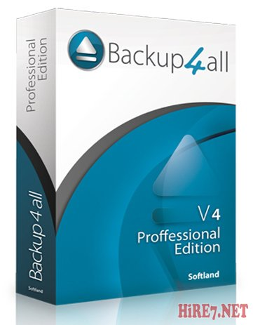 Backup4all Professional v4.6.263