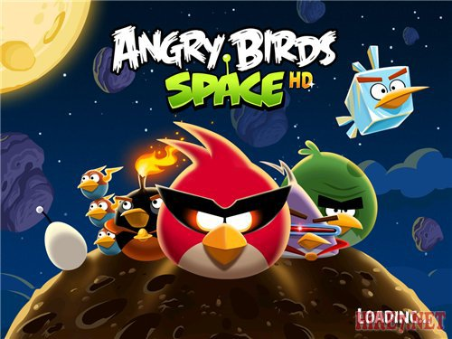 Angry Birds Space на мобильник