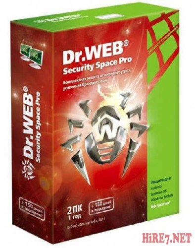 Dr.Web Security Space 7.0.1.4061 Final тихая установка by moRaLIst