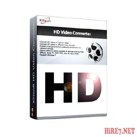 Xilisoft HD Video Converter 7.1.0 Build 20120405