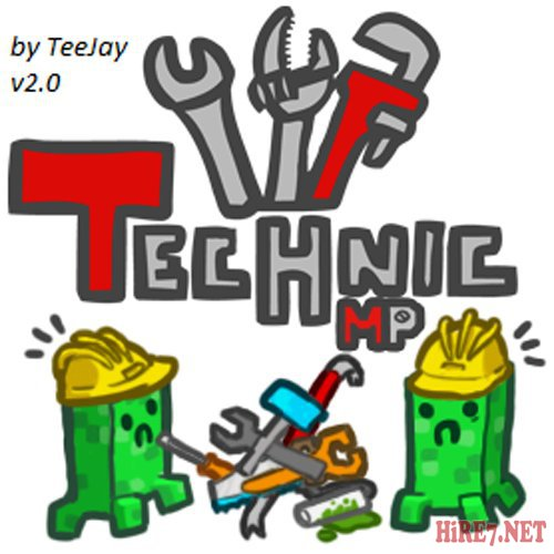 technik pack minecraft by teejay v2.0 + сервер