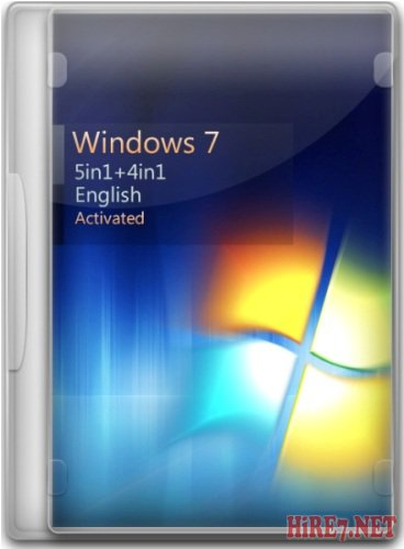 Windows 7 SP1 5in1+4in1 English (x86/x64) 12.05.2012