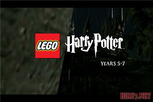 iPad Lego harry potter years 1-4, 5-7