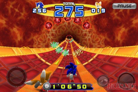 Sonic the hedgehog 4 Episode II для ipad
