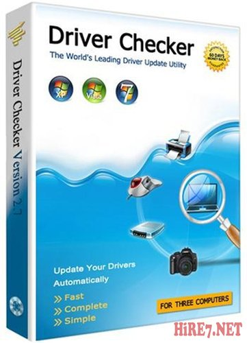 Driver Checker 2.7.5 Datecode 04.06.2012