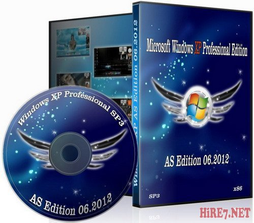 Windows XP Professional SP3 AS Edition 06.2012