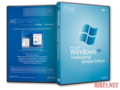 Windows XP Pro SP3 VLK 15.06.2012 simplix edition