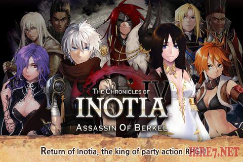 Inotia 4 Assassin of Berkel v1.0.3 [RPG, Любое, ENG]
