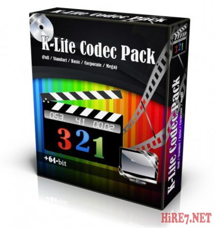K-Lite Codec Pack 8.9.5 Mega/Full/Basic/Standard + x64 6.4.5