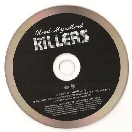 The Killers - Read My Mind (UK CDS)