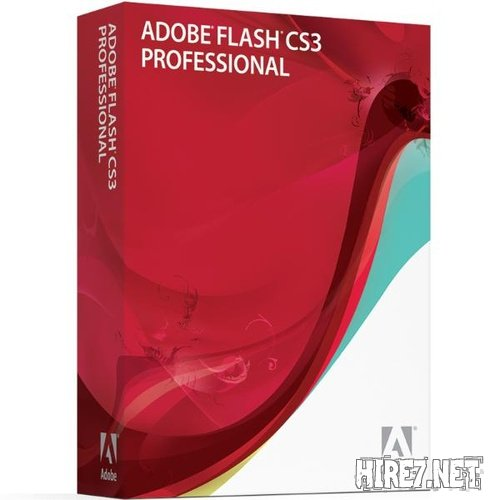 Adobe Flash Pro CS3.